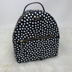 Kate Spade Musical Dot black & White Backpack Bag